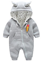 Baby Casual/Daily Galaxy Clothing Set-Cotton-Spring / Fall-Blue / Purple / Red