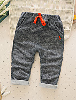 Boy's Casual/Daily Solid PantsCotton Spring / Fall Gray