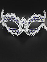 Luxury Rhine stone laser cutting Venice Carnival Party Mask3004C2