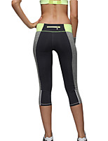 Women's Sexy Quick Dry Tight Compression Back Zipper Sports Pants Fitness Running Leggings