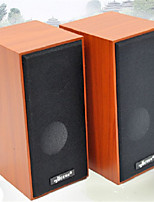 Wooden USB Sound Desktop Computer Notebook Speaker Subwoofer Car Audio
