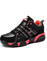 Unisex Sneakers Fall / Winter Comfort PU Casual Flat Heel Black / Blue / Red Sneaker