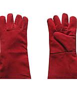 высокая термостойкость теплоизоляция длинные перчатки для электродуговой сварки длиной 35 см