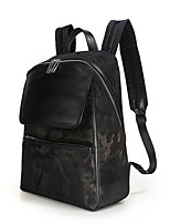 Men Oxford Cloth Casual Backpack Black