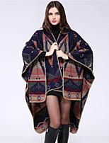 NITE OWL Women Rayon ScarfCasual RectangleBlueJacquard-16024