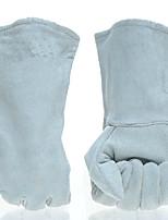 сварщик сварочные перчатки (светло-голубой л)