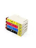 картридж принтера (4 цвета в комплекте продажа черный 15мл красный 13.5ml желтый 13.5ml синий 13.5ml)