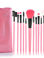 12 Blush Brush / Eyeshadow Brush / Brow Brush / Eyeliner Brush Others Professional / Travel / Full Coverage Plastic Others