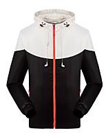 KOSHBIKE / KORAMAN® לגברים שרוול ארוך אופניים עמיד למים / שמור על חום הגוף / עמיד / מוגן מגשם / רך / חלק / נוח אימונית / מעילי רוח / ג'רזי