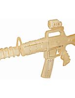 Пазлы Деревянные пазлы Строительные блоки DIY игрушки Снайперская винтовка 1 Дерево Со стразами