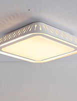 24W Square Modern Style Simplicity Acrylic LED Ceiling Lamp Flush Mount Living Room Dining Room Bedroom  light Fixture