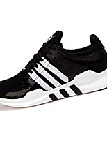 Women's Athletic Shoes Spring / Fall Mary Jane Tulle Outdoor / Athletic Flat Heel Lace-up Black / Red / Gray Sneaker