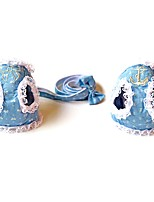 Cat / Dog Collar / Harness / Leash Soft / Running / Vest / Cosplay / Safety / Casual Bowknot Blue Fabric