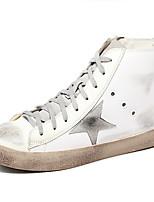 Women's Sneakers Fall Comfort Suede Casual Wedge Heel Beige
