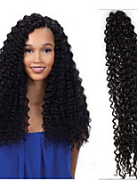 6packs full head Freetress curly crochet hair water/curly wave 18inch synthetic twist crochet braids havana twist hair extensions