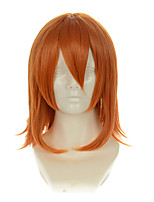 Death Note Mirlo Mikoto Misaka Mixed Orange Yellow Upturned Hair Ends Halloween Wigs Synthetic Wigs Costume Wigs