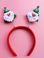 2pcs noël tête bandeau boucle cadeau de Noël cadeau décorations de Noël étudiants cerceau (style aléatoire)