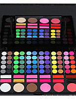 78 Eyeshadow Palette Matte / Shimmer Eyeshadow palette Cream Normal Daily Makeup