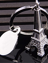 Metal Mini Style Mini Eiffel Tower Keychain