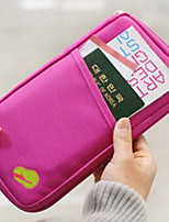 Travel Passport Wallet Travel Storage Waterproof / Dust Proof / Portable Polyester