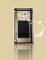 1 řasy Řasy Jednotlivé řasy Řasy Přírodně dlouhé Zvednuté řasy Ručně vyrobeno Vlákno Black Band 0.15mm 10mm