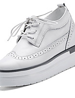 Women's Oxfords Spring / Summer / Fall / Winter Platform / Outdoor / Office & Career / Casual Wedge Black /