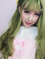 Sweet Lolita 70cm Long Green Curly Lolita Wig