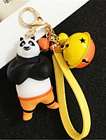 Kung Fu Panda Doll Keychain Creative Car Keys