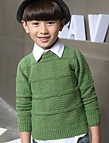 Boy's Casual/Daily Striped Sweater & CardiganWool Winter / Spring Brown / Green