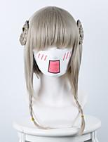 plan d'élevage fille magie sainte fille lin mélangé gris chanvre couronne animation perruque cosplay