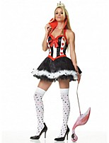 Alice In Wonderland Queen Of Hearts Costumes Anime Movie Costume Cosplay Fantasia Cosplay Carnival Costume Fancy Dress