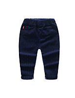 Boy's Casual/Daily Striped PantsCotton Spring / Fall Blue
