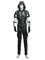 Cosplay Costumes / Party Costume Super Heroes /Top Quality Green Monster Season 4 Oliver Queen Cosplay Costume Halloween Clothing