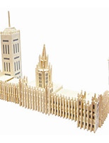 Big Ben Wooden Simulation/Stereo DIY Assembly Model Educational Toys
