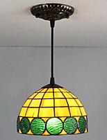 25W Luzes Pingente ,  Tradicional/Clássico / Tifani / Retro Pintura Característica for Estilo Mini Metal Sala de Estar / Entrada