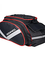 ROSWHEEL® Bike Bag 13LPanniers & Rack Trunk / Shoulder Bag Moistureproof / Shockproof / Wearable Bicycle Bag PU Leather / 600D Polyester