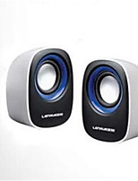LEnRuE S60 Computer Speaker Mini Portable Car Audio