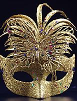(Colore casuale) 1PC festa di halloween costume di dialogo Maschera punta ornamenti