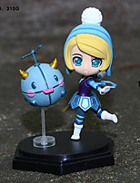 LOL Orianna Cosplay PVC 14cm Anime Action Figures Model Toys Doll Toy 1pc