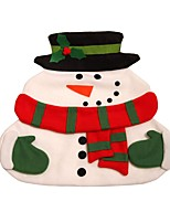 New Christmas Santa Claus Placemats Snowman Mat Place Mat Pads With Napkin Dinner Table Christmas Supplies Decorations