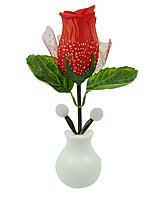 horké módní vedl růže noc světlo růže lampa bytové dekorace vedl nástěnné svítidlo