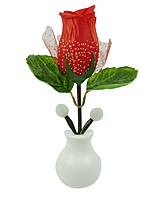 Hot Fashion LED Rose Night Light Rose Lamp Home Decoration LED Wall Lamp