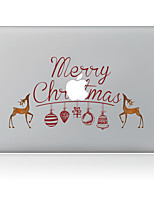 Merry Christmas Decorative Skin Sticker for MacBook Air/Pro/Pro with Retina