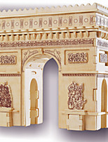 Arc DE Triomphe Puzzles Wooden Puzzles Building Blocks DIY Toys Famous buildings 1 Wood Ivory Puzzle Toy