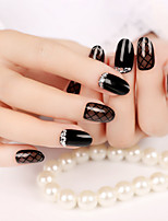 Hepburn Style High Quality Nail Strips Fashion Atmosphere 1Set