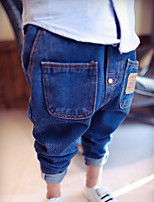 Boy's Casual/Daily Embroidered PantsCotton Spring / Fall Blue