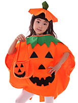 Costumes Cosplay Inspiré par sans étoiles Nameless Actress Anime Accessoires de Cosplay Cape / Chapeau Orange Polyester Enfant