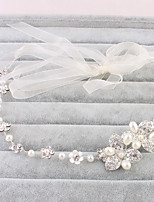 Mujer Diamantes Sintéticos Celada-Boda / Ocasión especial / Casual / Oficina / Al Aire Libre Bandas de cabeza 1 Pieza