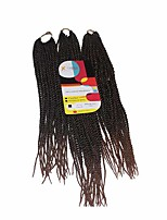 Senegal Twist  T1b/30 Synthetic Hair Braids 18inch 20inch 22inch Kanekalon 81 Strands 200g  Multipal Pack for Full Heads
