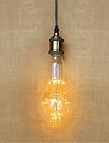 2W E26/E27 Lâmpada Redonda LED AR111 49 LED Dip 140 lm Branco Quente Decorativa V 1 pç